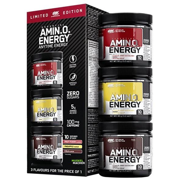 Optimum Nutrition Amino Energy Limited Edition (3er Pack)