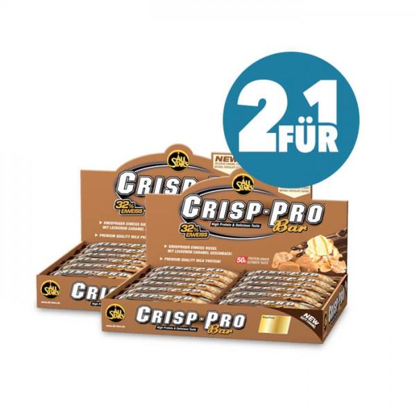 All Stars Crisp-Pro Protein Bar (2-für-1) Sparpaket