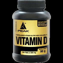 PEAK Vitamin D (180 Tabletten)