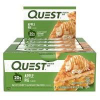 12er Box Quest Bar Apple Pie