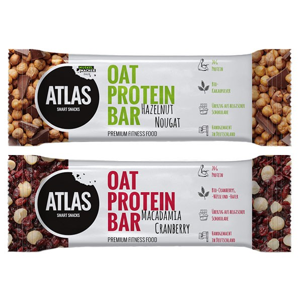 Atlas Snacks Oat Protein Bar