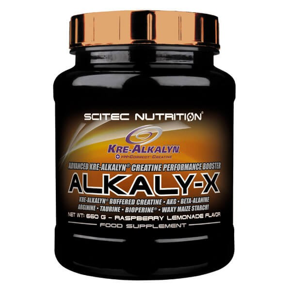 Scitec Nutrition Alkaly-X Fruit Punch MHD 02/2019