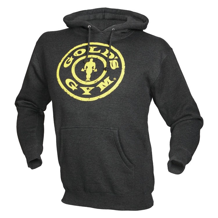Gold´s Gym Distressed Plate Hoodie (Gr. L)