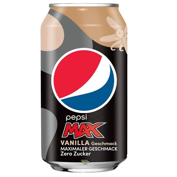 Pepsi Max Vanilla Zero Sugar