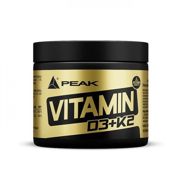 PEAK Vitamin D3+K2 (120 Tabletten)