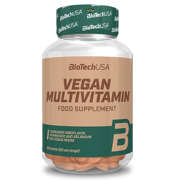 Biotech USA Vegan Multivitamin (60 Tabletten)