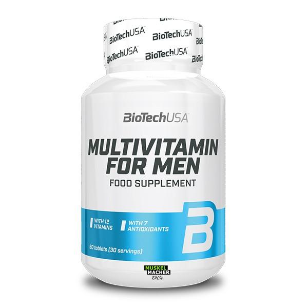 BioTech USA Multivitamin for Men (60 Tabletten)