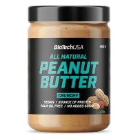 BioTech USA All Natural Peanut Butter Smooth 400g
