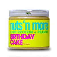 Nuts'n More Peanut Butter Birthday Cake