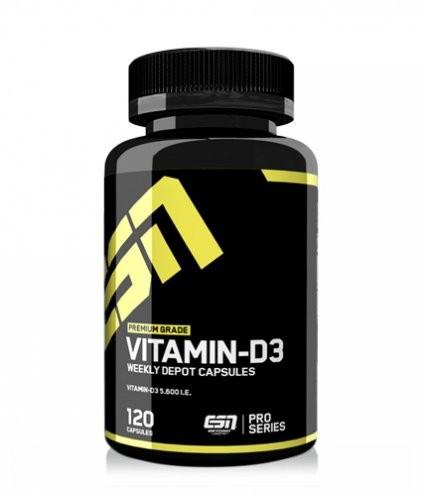 ESN Vitamin D3 (120 Kapseln)