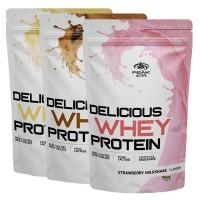 PEAK Delicious Whey Protein Vanille Milkshake