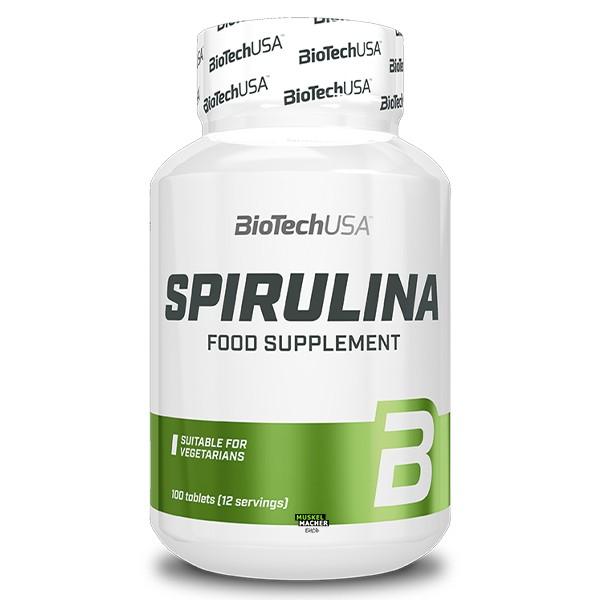 BioTech USA Spirulina (100 Tabletten)