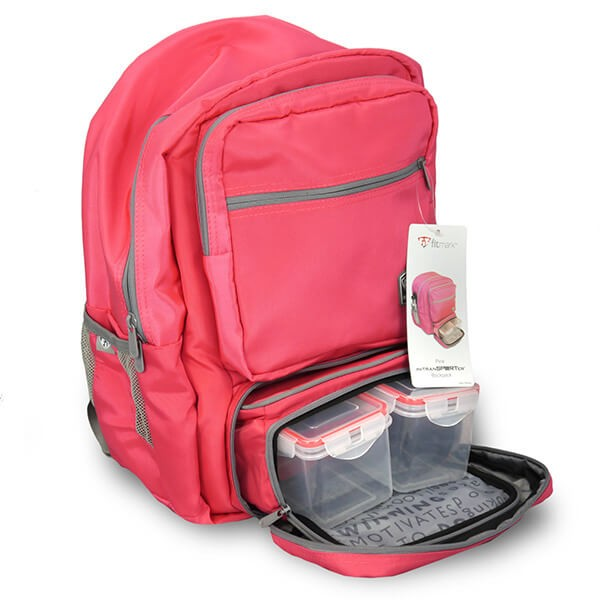 Fitmark Transporter Backpack Rucksack (Pink)