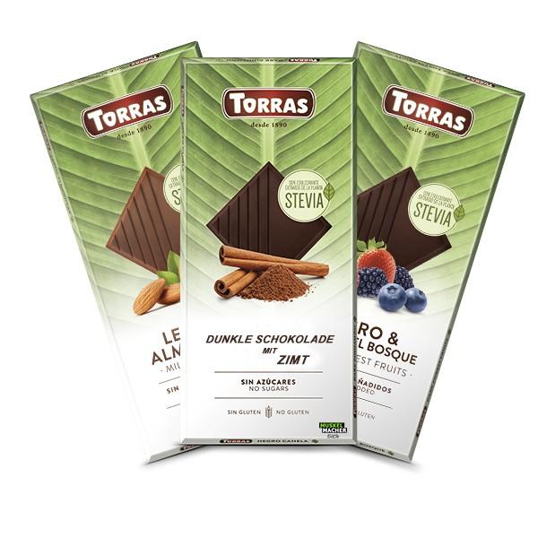 Torras Stevia Schokolade