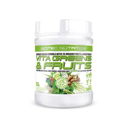 Scitec Nutrition Vita Greens & Fruits Stevia (Apfel)