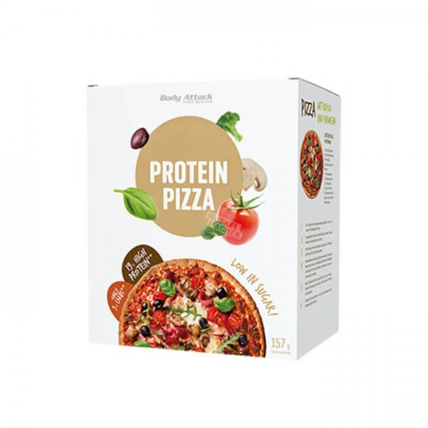 Body Attack Low Carb (kohlenhydratreduziert) Pizza