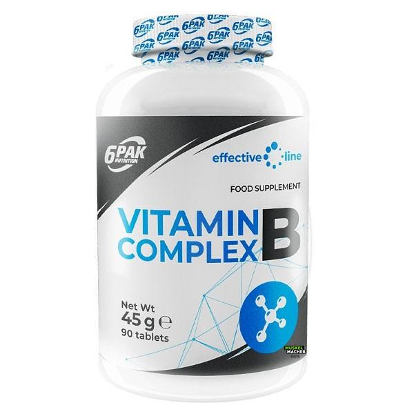6Pak Nutrition Vitamin B Complex (90 Tabletten)
