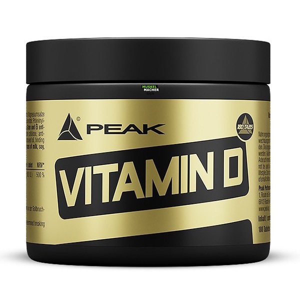 PEAK Vitamin D (180 Tabletten)