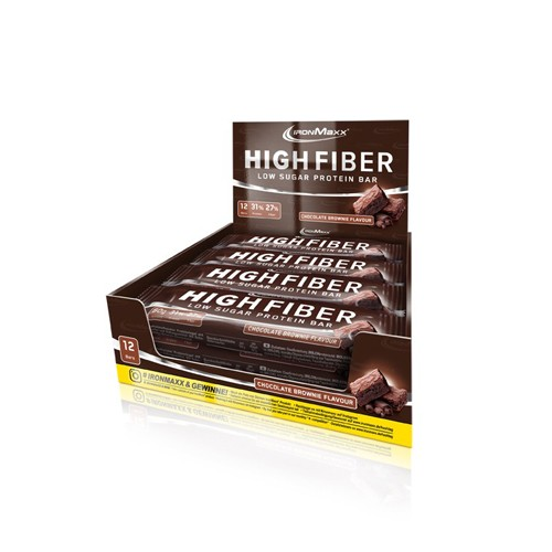 Ironmaxx High Fiber Protein Bar