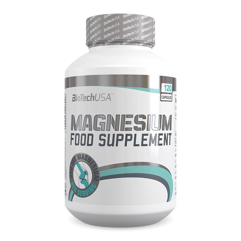 BioTech USA Magnesium (120 Kapseln)