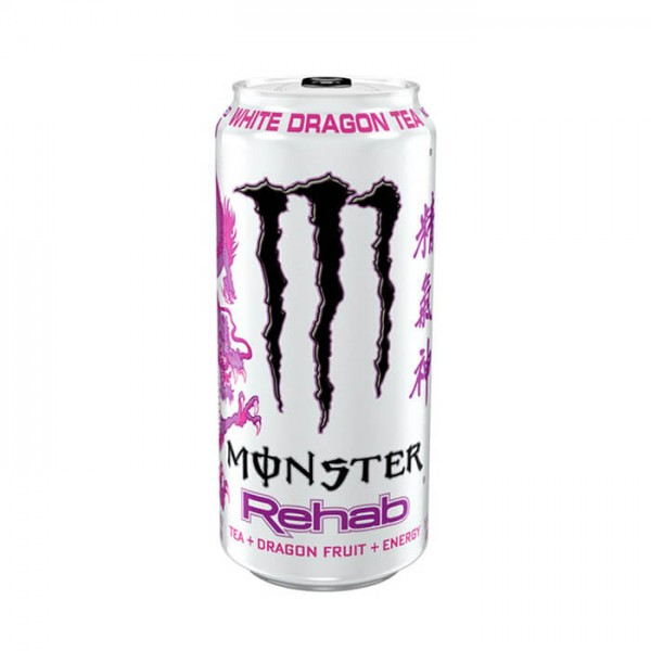 Monster Energy Rehab White Dragon