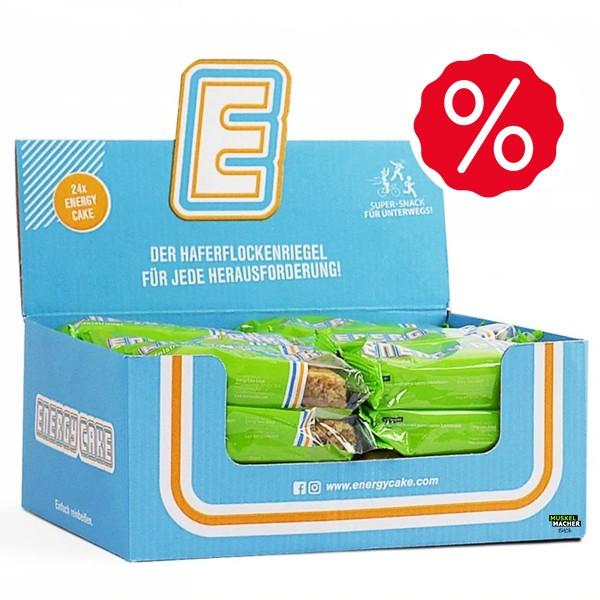 24x 125g Energy Cake Box MHD