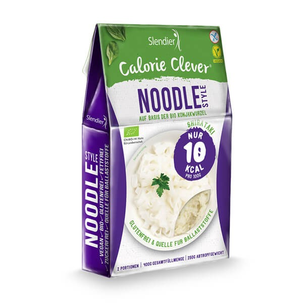 Slendier Noodle Style