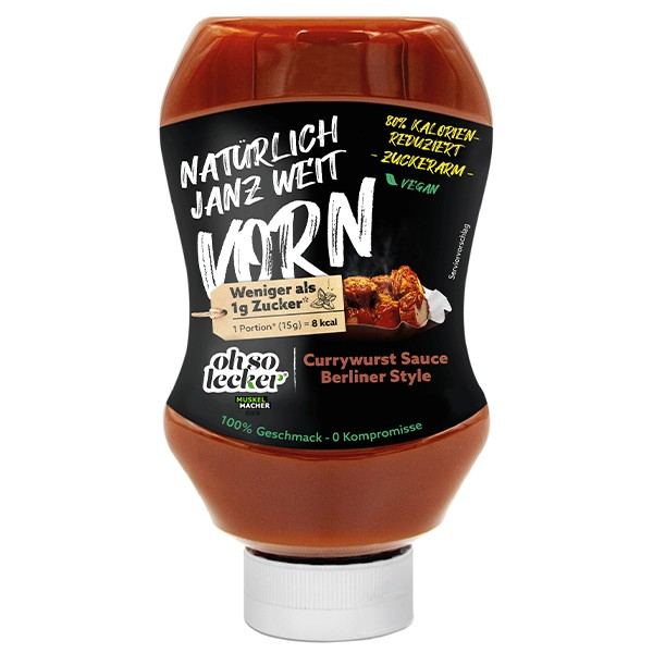 Oh so lecker Currywurst Sauce Berliner Style
