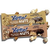 Weider Yippie Protein Bar Nuts Caramel Peanut Butter