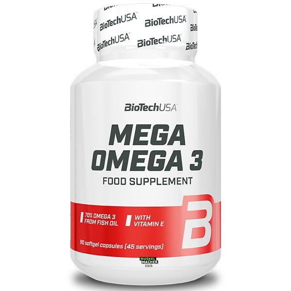 BioTech USA Mega Omega 3