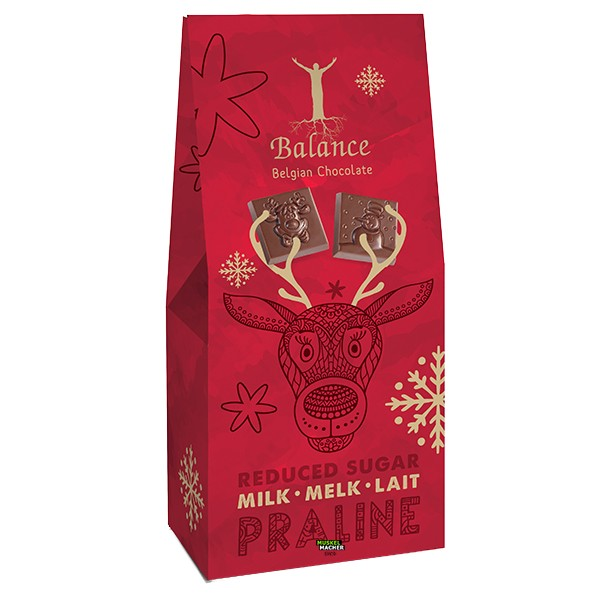 Balance Belgian Chocolate Milk Reduced Sugar Praline