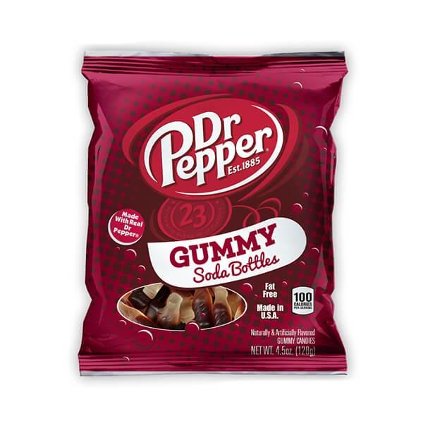 Dr. Pepper Gummy Soda Bottles