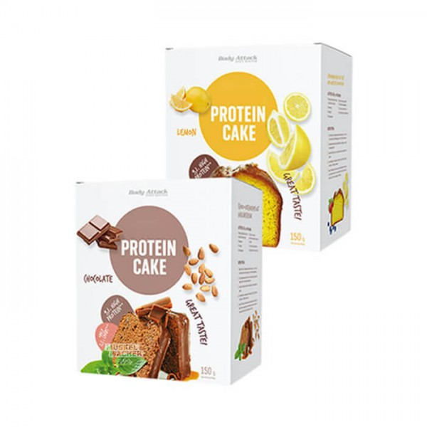 Body Attack Low Carb (kohlenhydratreduziert) Protein Cake