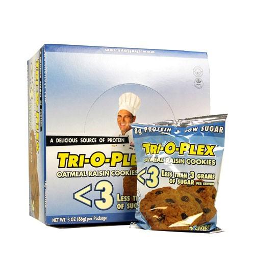 Tri-O-Plex Protein Cookies