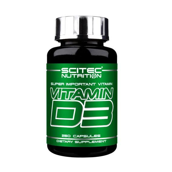 Scitec Nutrition Vitamin D3 (250 Kapseln)
