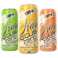 GN Narc Focus Zero 250ml|Ice Tea Pfirisch
