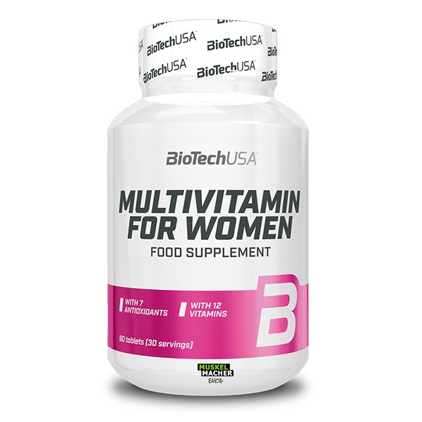 BioTech USA Multivitamin for Women (60 Tabletten)