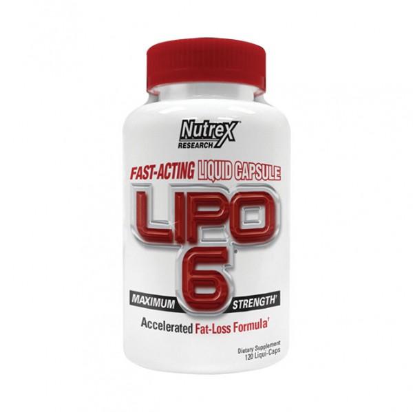 Nutrex Research Lipo 6 (120 Kapseln)