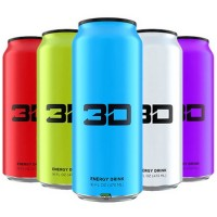 3D Energy Drink Candy Punch