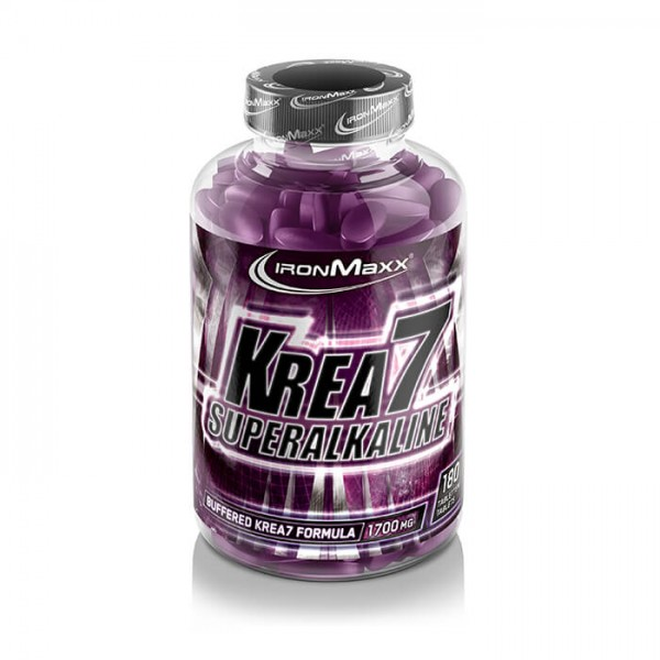 Ironmaxx Krea7 Superalkaline (180 Tabletten)