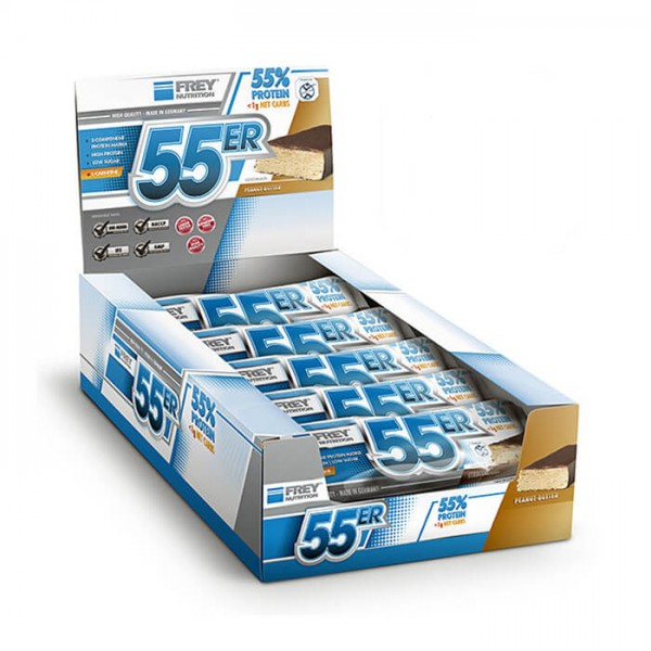 Frey Nutrition 55er Protein Bar Mix Box