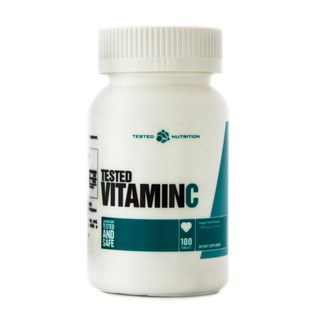 Tested Vitamin C (100 Tabletten)