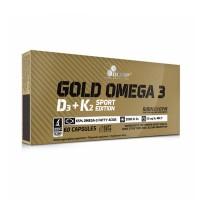 Olimp Gold Omega 3 D3+K2 60 Kapseln
