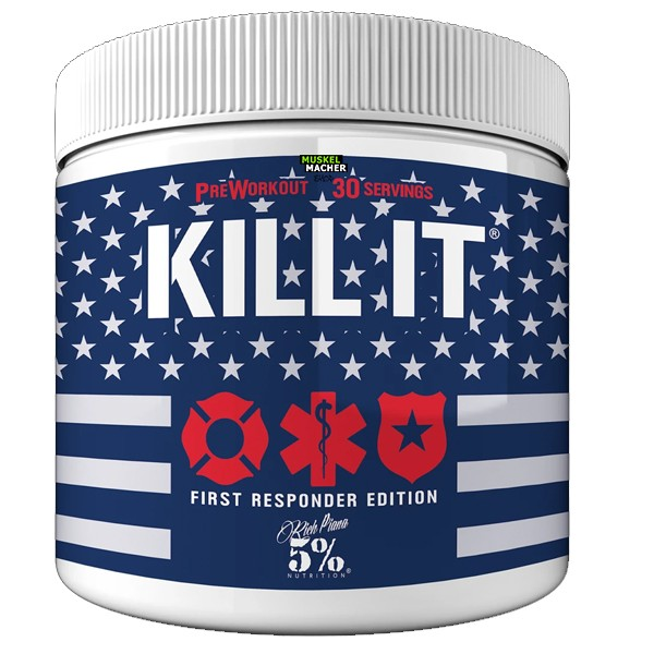 Rich Piana 5% Nutrition Kill it First Responder Edition