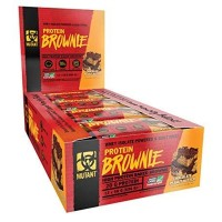 12x Mutant Protein Brownies Peanut Butter Chocolate