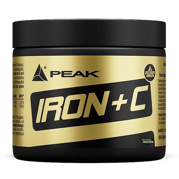 PEAK Iron + C (120 Tabs)