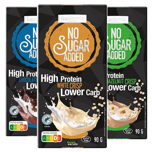 Frankonia No Sugar Added High Protein Schokolade