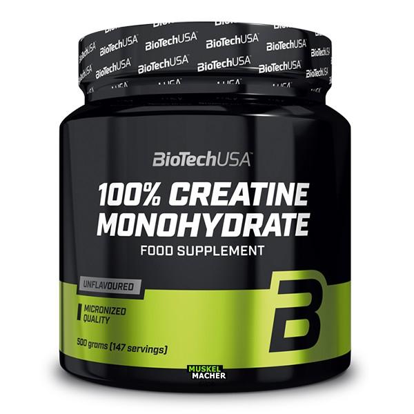 BioTech USA 100% Micronized Creatine Monohydrate
