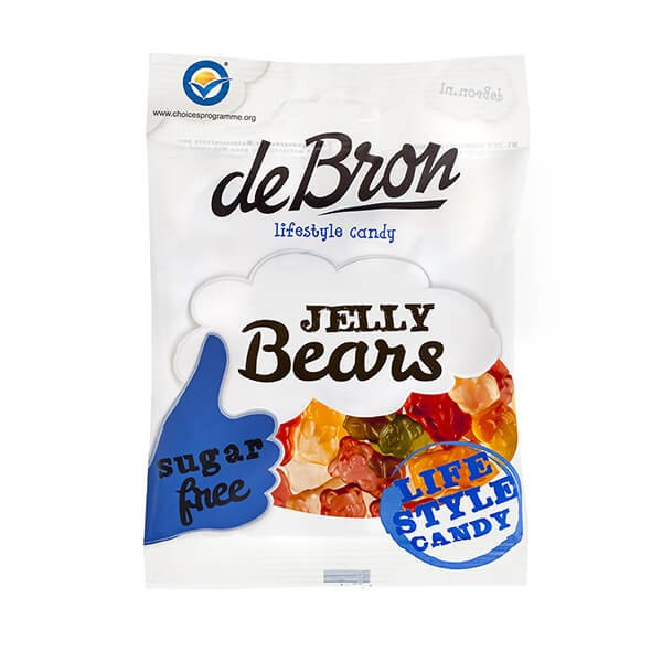 De Bron Jelly Bears zuckerfrei