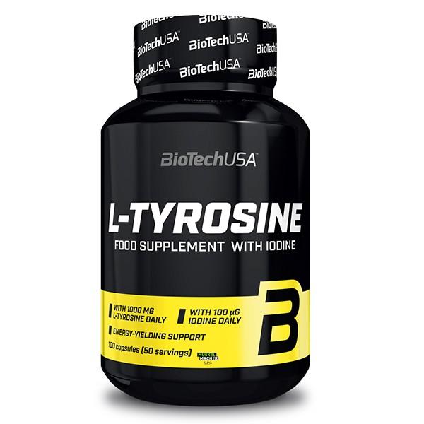 BioTech USA L-Tyrosine (100 Kapseln)